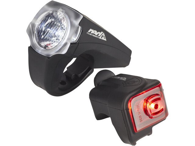 Red Cycling Products PRO 25 Lux Urban LED Beleuchtungsset schwarz